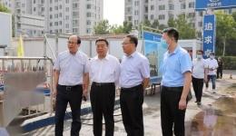青岛市人民检察院党组书记、检察长李建新一行调研我院二期项目建设
